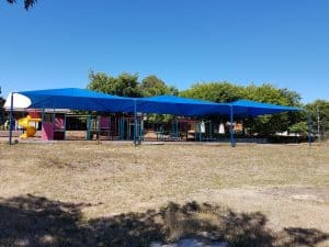 St. Michaels PS – Shade canopy structure (1)